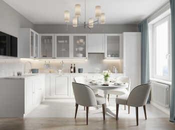 Кухня, вариант отделки «Лондон»